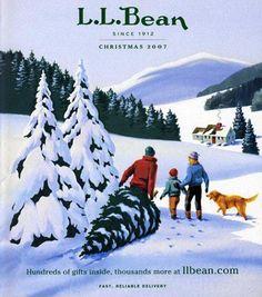 L.L.Bean Christmas 2007 - by Chris Van Dusen