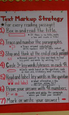 A Ruby Payne strategy - it works!  My kiddos' comprehension is rockin' right now! :)
