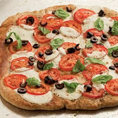 Easy Healthy Pizza Recipes | Eating Well