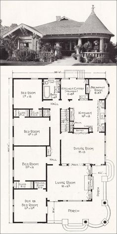 c1918 Stillwell -California Homes - I love these old homes. Must find one to buy or remodel ours to pay homage