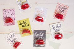 sweet wax-lip card - 15 Valentine's Day Free Printables - ParentMap