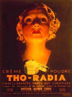 Tho-Radia Radium beauty cream.