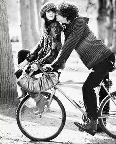 Biking in Paris,,,