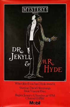 Edward Gorey's rare Dr. Jekyll and Mr. Hyde poster