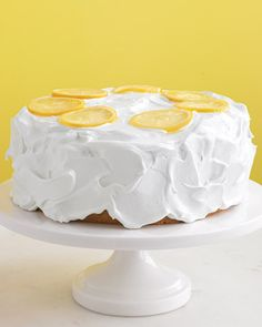 Simple and lovely lemon cake