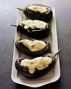 Stuffed Eggplant Parmesan - Martha Stewart Recipes