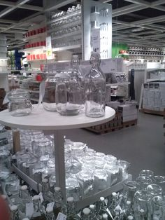 Ikea has some great pieces for a trailer or mobile home.