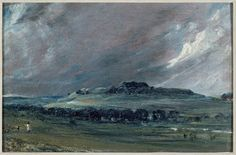Old Sarum, John Constable, 1829