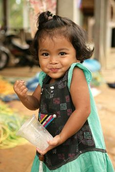 Child in Thailand - Pak Tream Village, Phang, Nga Province