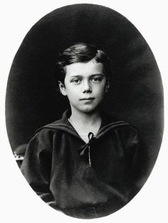 Tsarevich Nicholas at the age of 10 years,1878.