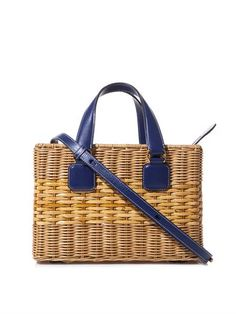 Manray rattan wicker box bag | Mark Cross | MATCHESFASHION.COM