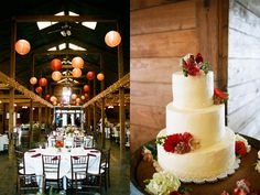 I think barn weddings are so cool.
