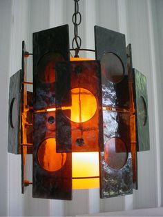 Mid Century Space Age Lucite Swag Lamp by OrWaDesigns on Etsy