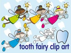 FREE: tooth fairy clip art
