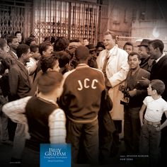 SHARING CHRIST WITH THE NEXT GENERATION  |  1957, Spanish Harlem, New York  |  During his New York Crusade, Billy Graham met with a group of young gang leaders.