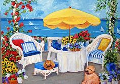My Painted Garden: Balboa Island Art Walk