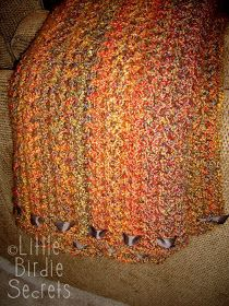 quick & simple crocheted afghan ... pattern ...