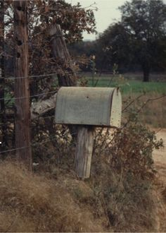 the old mailbox