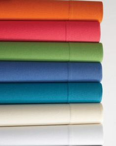Garnet Hill Solid Jersey-Knit Bedding