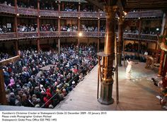 Nothing like watching Shakespeare at the Globe.... nothing.
