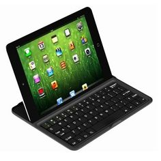 keyboard, gadgets, fingers, ipad mini, apples, accessories, leather, design, black