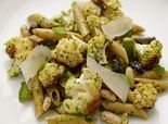 Recipe: Whole Wheat Penne Pasta with Pesto