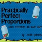 Practically Perfect Proportions is a complete 8 day unit!  It introduces ratios, proportions, and similar figures.  It includes ratio and proport...