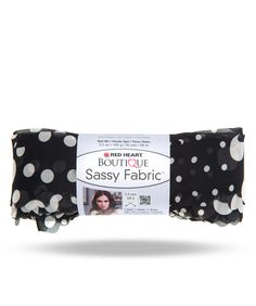 Boutique Sassy Fabric is a unique soft, sheer fabric strip with evenly spaced holes to make it easy to knit or crochet. The fashion prints include polka dots and animal prints in wonderful wardrobe-enhancing shades.