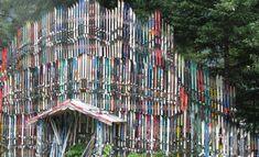 Ski Fence, Douglas, Alaska