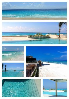 The first sneak peeks of the pools & beach at Secrets The Vine Cancun! We can't wait for opening day on 8/19!