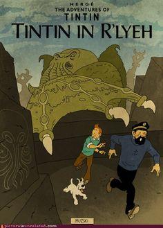 Tintin in R'lyeh