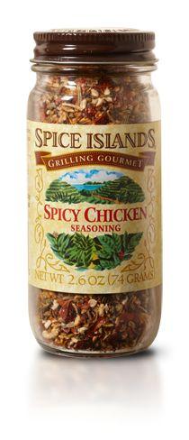 Chicken Seasoning, Spicy - Seasoning Mixes
