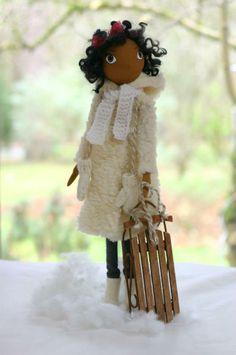 "Vasilisa *Fancy Dolls ""Winter Girl"""