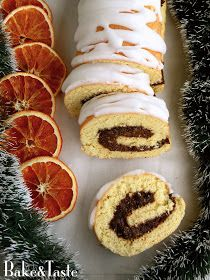 Bake&Taste: Szybki i prosty makowiec, czyli rolada biszkoptowa z makiem