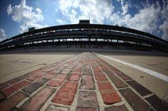 Indianapolis Motor Speedway yard of bricks