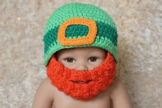 St. Patricks Day Crochet Leprechaun by ButterfliesnLadybugs, $20.00