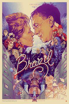 Brazil | a Terry Gilliam Film | Illustration Martin Ansin