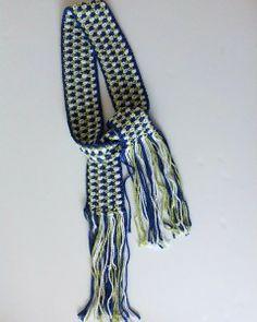 Free Seed Stitch Belt Crochet Pattern