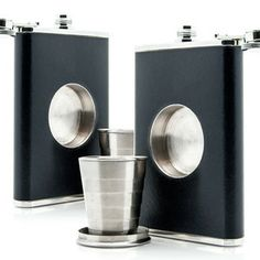 Shot Flask 2 Pack now featured on Fab.