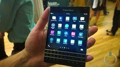 Blackberry Passport Hands On!