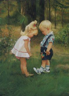 donald zolan paintings   Donald Zolan oil painting,portrait,childhood oil painting,art,oil ...