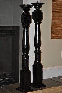 railing posts/candle sticks
