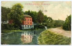 The Union Mills area was bustling with activity during the canal era with several mills, a distillery, post office and many shops. There were three canal locks in the Union Mills area while the canal was in operation with Lock 50 opening on December 1, 1832.