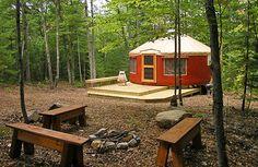 yurts.