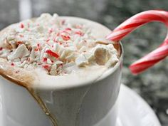 This rich chocolate drink is made with bittersweet chocolate and heavy whipping cream in honor of St. Nicholas.