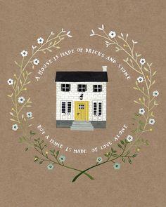 house print by Rebekka Seale