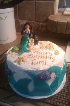 Tami's mermaid birthday cake
