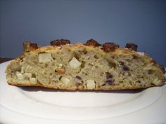 Potato, feta & red onion bread, based on a recipe in Delia Smith's How to Cook (1).