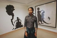 Kara Walker is a contemporary African American artist who explores race, gender, sexuality, violence and identity in her work    Google Search kara walker, artists, african americans, artist kara, silhouettes, black artist, the artist, cut paper, favorit artist