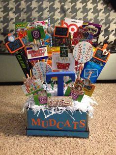 Baseball inspired birthday gift (Tallon)